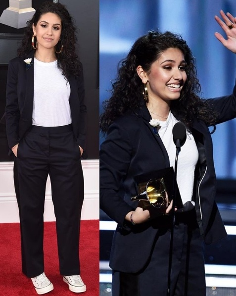 Alessia Cara wins Best New Artist at the Grammys